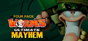 Купить Worms Ultimate Mayhem - Four Pack