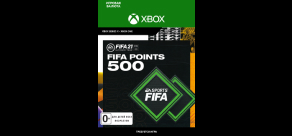 Купить FIFA 21 (Xbox). FIFA 21 ULTIMATE TEAM™ 500 POINTS (Xbox)