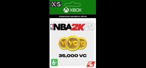 Купить NBA 2K21 (Xbox). NBA 2K21: 35,000 VC (Xbox)