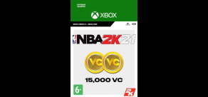 Купить NBA 2K21 (Xbox). NBA 2K21: 15,000 VC (Xbox)