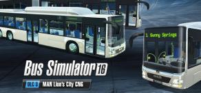 Купить Bus Simulator 16 - MAN Lion's City CNG Pack