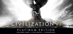 Купить Sid Meier's Civilization VI. Sid Meier's Civilization® VI - Platinum Edition
