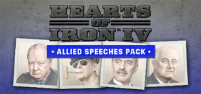 Купить Hearts of Iron IV: Cadet Edition. Hearts of Iron IV: Allied Speeches Pack