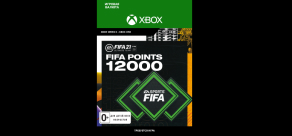 Купить FIFA 21 (Xbox). FIFA 21 ULTIMATE TEAM™ 12000 POINTS (Xbox)