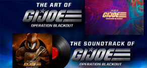 Купить G.I. Joe: Operation Blackout - Digital Art Book and Soundtrack