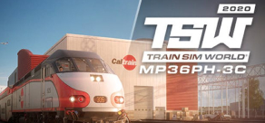 Купить Train Sim World 2020. Train Sim World®: Caltrain MP36PH-3C 'Baby Bullet' Loco Add-On