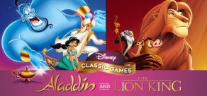 Купить Disney Classic Games: Aladdin and The Lion King