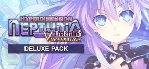 Купить Hyperdimension Neptunia Re;Birth3 V Generation. Hyperdimension Neptunia Re;Birth3 - Deluxe Pack
