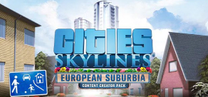 Купить Cities: Skylines -  European Suburbia Content Creator Pack